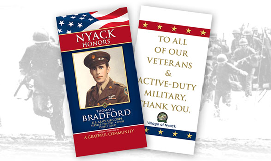 Military Tribute Banner Sales